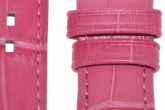 Hirsch 'Princess' Pink Leather Strap, 16mm