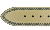 Hirsch 'Ascot' 17mm Black Leather Strap