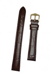 Hirsch 'LouisianaLook' M Brown Leather Strap, 14mm