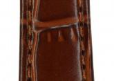 Hirsch 'LouisianaLook' M Golden Brown Leather Strap, 14mm