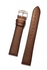 Hirsch 'Diamond calf'' Brown Leather Strap,M, 24mm
