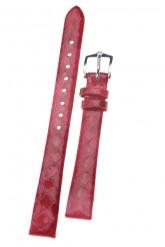 Hirsch 'Pythea Strawberry'  12mm  Strawberry Leather Strap
