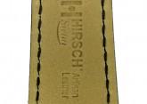 Hirsch 'Siena' M Black, 18mm  Tuscan Leather Strap