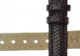Hirsch 'Rainbow' M Brown Leather Strap, 10mm