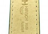 Hirsch 'Osiris' L Green Leather Strap, 18mm