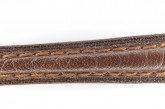 Hirsch 'Camelgrain' 14mm Brown Leather Strap