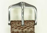 Hirsch 'Rainbow' M Brown Leather Strap, 20mm