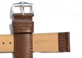 Hirsch 'Kansas' Brown Calf Leather Strap, 16mm