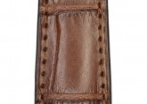 Hirsch 'London' L Brown Leather Strap, 19mm
