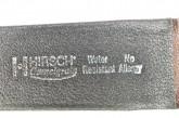 Hirsch 'Camelgrain' XL 20mm Brown Leather Strap
