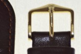 Hirsch 'Osiris' Brown Leather Strap, 18mm