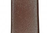 Hirsch 'Italocalf' Brown ,L,  Leather Strap, 16mm