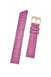 Hirsch 'Princess' Fuchsia Leather Strap, 20mm