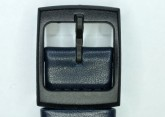 Hirsch William, Watch Strap for Swatch Gents in Blue, 17mm, Plastic Buckle