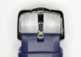 Hirsch 'Extreme' 22mm Premium Blue Rubber Strap