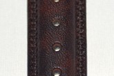 Hirsch 'Ascot' 18mm Brown Leather Strap