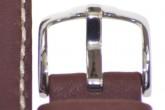 Hirsch 'Mariner' 20mm Brown Leather Strap