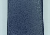 Hirsch 'Diamond calf'' Blue Leather Strap,M, 12mm