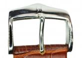 Hirsch 'Modena' Golden Brown Leather Strap, 20mm