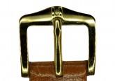 Hirsch 'Siena' M Golden Brown, 16mm  Tuscan Leather Strap