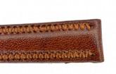 Hirsch 'Ascot' 14mm Golden Brown Leather Strap