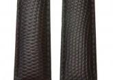 Hirsch 'Rainbow' Brown Leather Strap, 18mm