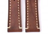 Hirsch 'Liberty' 18mm Brown Leather Strap