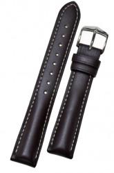 Hirsch 'Heavy Calf' 26mm Brown Leather Strap