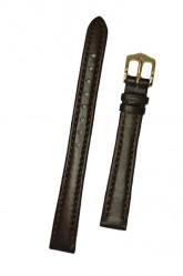 Hirsch 'Merino-Artisan' M Brown Leather Strap, 12mm
