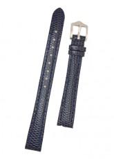 Hirsch 'Rainbow' M Blue Leather Strap, 14mm