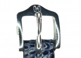 Hirsch 'Rainbow' M Blue Leather Strap, 10mm