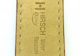 Hirsch 'Osiris' Middle Brown Leather Strap, 18mm