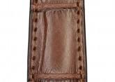 Hirsch 'London' L Brown Leather Strap, 18mm