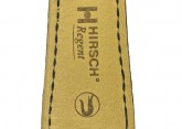 Hirsch 'Regent' M Black Leather Strap, 17mm