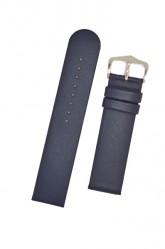 Hirsch 'Scandic' Blue, leather watch strap 18mm