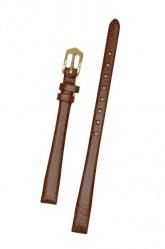 Hirsch 'Dakota' Golden Brown Leather Strap,M, 16mm