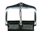 Hirsch 'Umbria ' L Black Leather Strap, 20mm