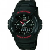Gents Casio G-Shock Strap Watch G-100-1BVMES