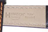 Hirsch 'Jumper' Black Leather Strap, 20mm