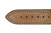 Hirsch 'Buffalo' M 20mm Golden Brown Leather Strap