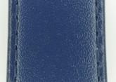 Hirsch 'Umbria ' M Blue Leather Strap, 20mm
