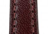 Hirsch 'Osiris' Burgundy Leather Strap, 14mm