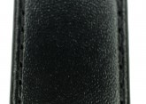 Hirsch 'Umbria ' M Black Leather Strap, 18mm