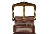 Hirsch 'London' M Brown Leather Strap, 16mm