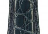 Hirsch 'Regent' M Blue Leather Strap, 17mm