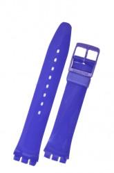 Swatch Strap Classic Purple  'Callicarpa' 17mm AGV121