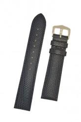 Hirsch 'Rainbow' L Blue Leather Strap, 18mm