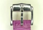 Hirsch 'Princess' Fuchsia Leather Strap, 12mm