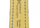 Hirsch 'Viscount' Brown Leather Strap, 18mm