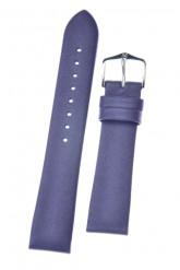 Hirsch 'Cashmere-aloe vera' Purple Leather Strap, 20mm